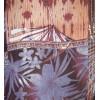 Ефектна еластична блуза в земни цветове